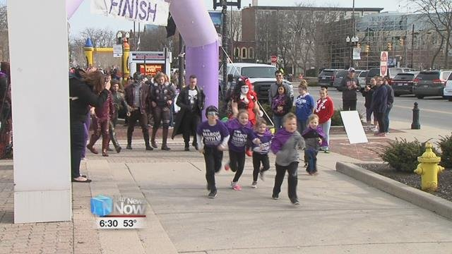 Families that have had a connection to the March of Dimes organization or just coming out to support were in downtown Lima for this year's March for Babies.