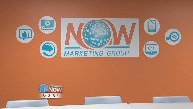 The company's twelve member team focuses on social media management, website design, and development and video.