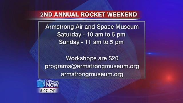 Rocket Weekends run from 10 to 5 on Saturday and 11 to 5 on Sunday.