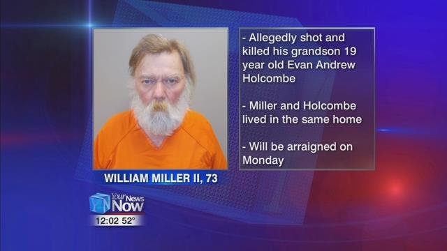 The Paulding County Sheriff's Office arrested 73-year-old William R. Miller II after deputies say he shot 19-year-old Evan Andrew Holcombe in the chest Thursday night.