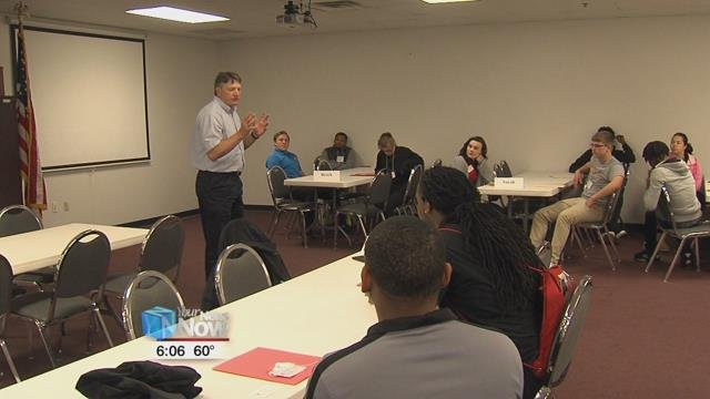 Ohio Means Jobs hosted a group of Lima Senior High School students for In Demand Jobs Week.