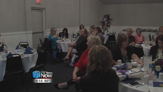 The Area Agency on Aging 3 held a luncheon for members, part of the Retired Senior Volunteer Program.