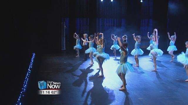 """The annual spring recital, this year called """"Just Wanna Dance"""", is a decades-long Mother's Day tradition for Lyn's Academy of Dance, one that owner Lyn Mulcahy says only runs on mom power."""
