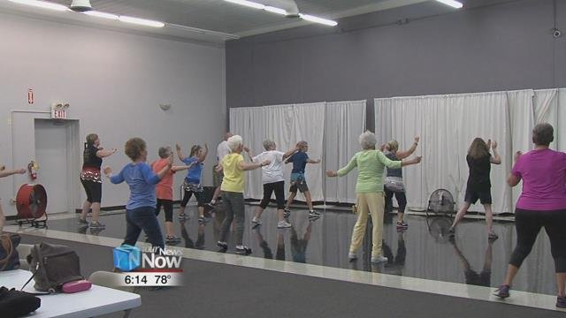 Both chair Zumba and standing Zumba are offered to people 55 years and older by the Council on Aging.