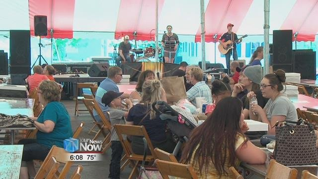 The summer festival season kicked off this weekend at Saint Rose School and Catholic Church.