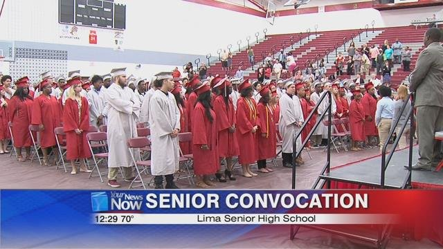 Wednesday morning the school district held their annual convocation.