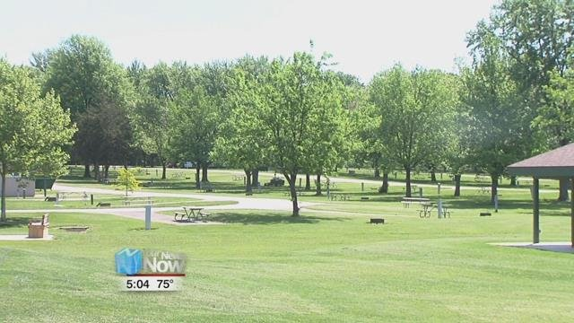 Park Manager Dave Faller says that they're expecting quite a few people over the weekend