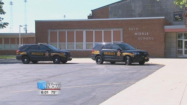Authorities learned early onWednesday morning of a threat made to Bath Local Schools.