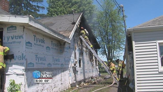 Delphos, Spencerville, American Township, and Fort Jennings were all on the scene.