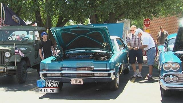 The car show gave members of the Men's Club and the Lima community a chance to connect with each other through old memories.