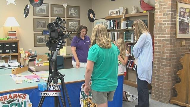 "Through a community grant awarded to New Bremen, the ""Arts in the Parks"" summer class was given the opportunity to make a movie about the community."