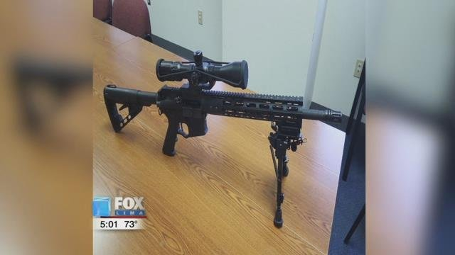 Ascura had an AR-15 rifle and 500 rounds of ammunition that was confiscated.