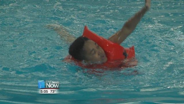 The Lima YMCA wrapping up their week long SPLASH program, teaching youngsters some basic water safety that could save a life.
