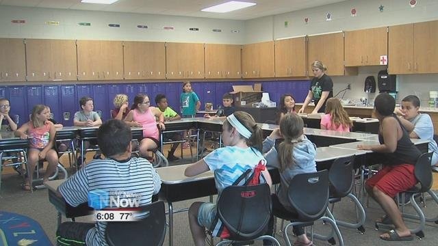 For the second year, Leipsic Elementary School hosted Camp Invention, a science, technology, engineering, and math camp for students in kindergarten through sixth grade.