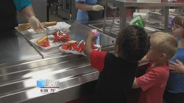 Last year, the free lunch program fed on average 450 children a day.