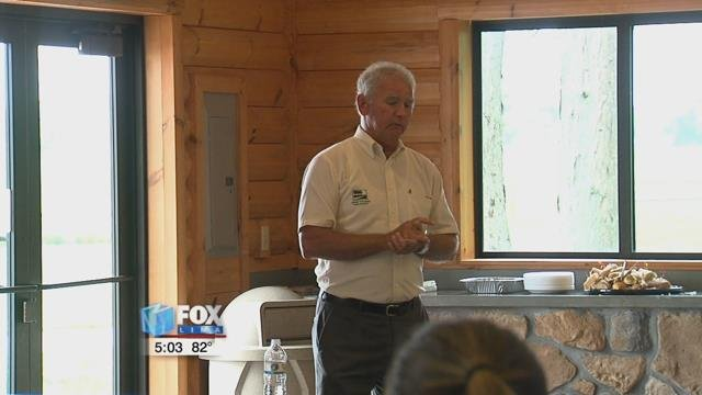 Park officials explained how the park system helps make Lima great and encouraged everyone to volunteer within the park district or Lima parks.