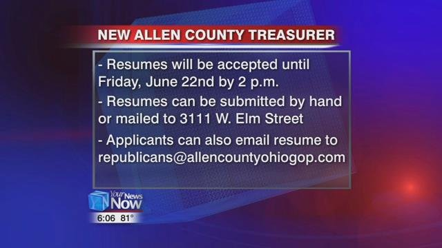 Resumes will be accepted until Friday, June 22nd by 2 p.m.
