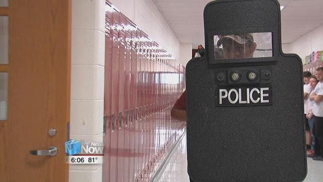 This summer, students at the Lima Police Department's Youth Academy are looking at the job from a new perspective.