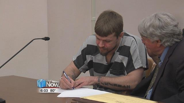 Gabriel Salyers waived his right to a speedy trial while in court.