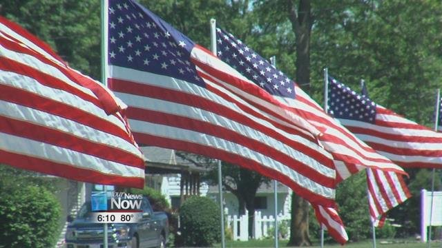 June 14th is Flag Day, in honor of the day the very first United States flag was adopted.