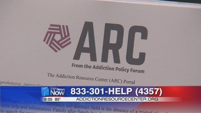 The number to call is 833-301-HELP or go to their website addictionresourcecenter.org.