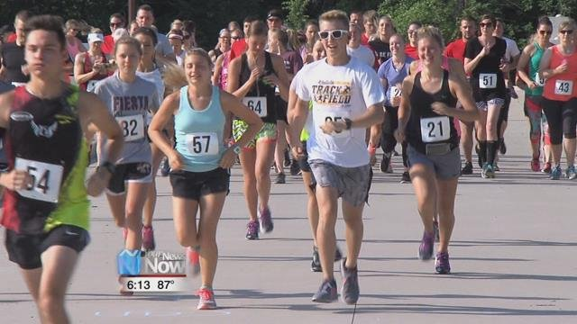 Saturday they held a memorial benefit in Four Seasons Park in Kalida, which was complete with a 5Krace, raffle, and chicken barbecue.