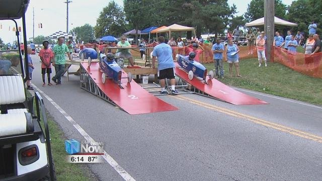 Saturday (6/19/18) The 68th annual Lima Soap Box Derby took over North Shore drive and around 30 students competed in the event.