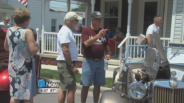 New this year, the Columbus Grove Chamber of Commerce introduced a car show to the weekend's festivities.