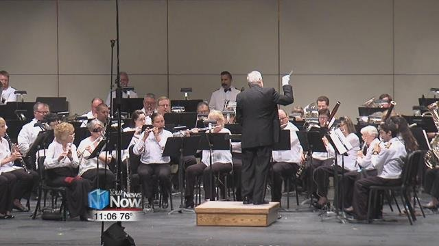 The band played the classics from the March King in their annual Sounds of Sousa tribute concert.