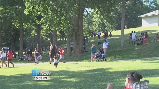 People from all over came to Faurot Park for the 25th annual Star Spangled Spectacular.