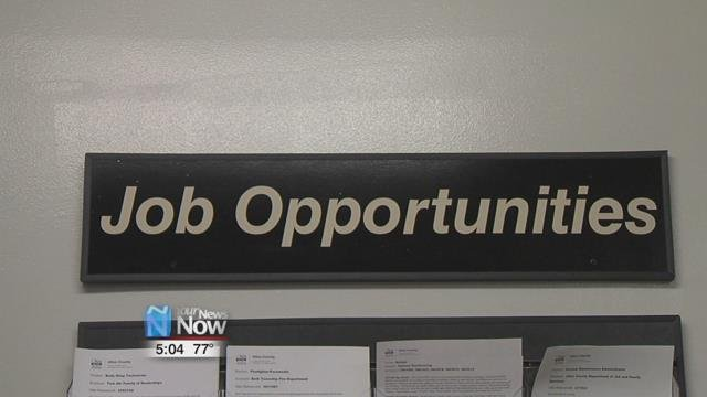 there are 300 opportunities right now in Auglaize County and if a person wanted and could pass a drug screen, they could be hired tomorrow.