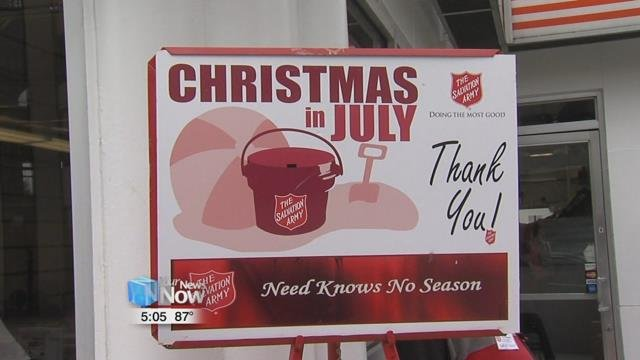The campaign will run until July 28th, and the Salvation Army is hoping that you are in the giving mood to help support their mission of giving back.
