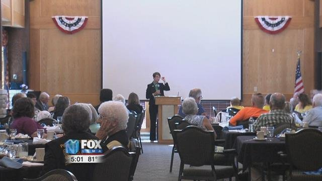 """The conference was for a partnership called """"Triad"""" which involves the community and law enforcement working together with seniors to address some of the issues that impact them."""