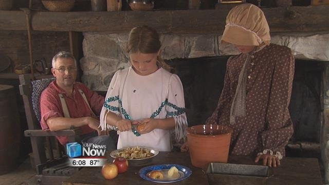The museum gave people a look at how their ancestors lived life throughout the past at their annual Living History Day.