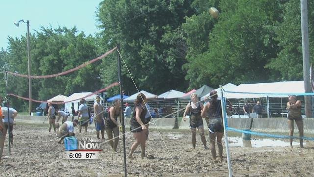 Dozens of people took to Ada War Memorial Park to get dirty for Downs.