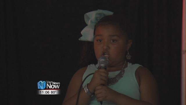 A talent show for Lima's youth was held at the Bradfield Community Center.