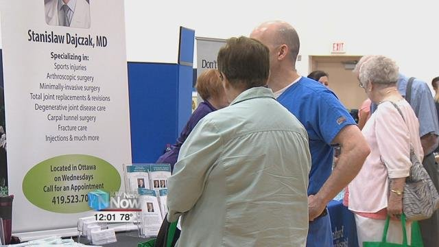 This is the 11th year that different agencies and businesses that have teamed up to put on the Senior Expo.