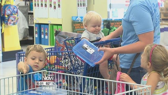 On top of the back to school sales already going on, shoppers can save an extra 6.75% on their school supplies.