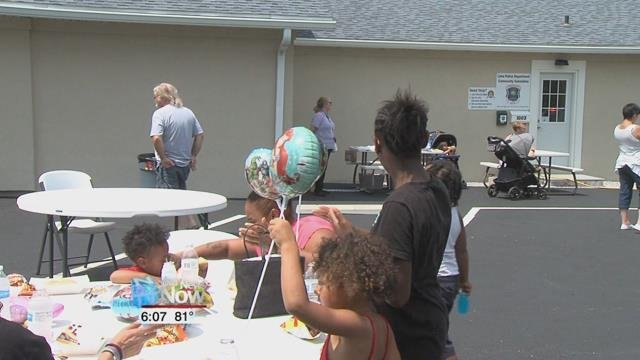 There was a lot of fun to be had at the New Life Assembly Church on Kibby Street as members of the community joined in with officers from the Lima Police Department's Community Oriented Police Program for a cookout.