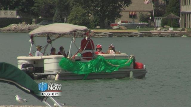 And if you can't putt, there is a chance where you can win a prize for decorating your pontoon boat.