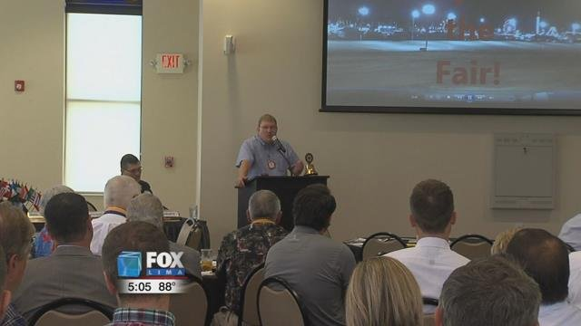 Bob Fricke gave a rundown of what to expect at this year's fair, which runs from August 17th to the 25th.