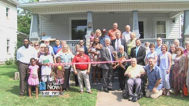 Through a family donation, Family Promise can now use this Lima residence to combat homelessness.
