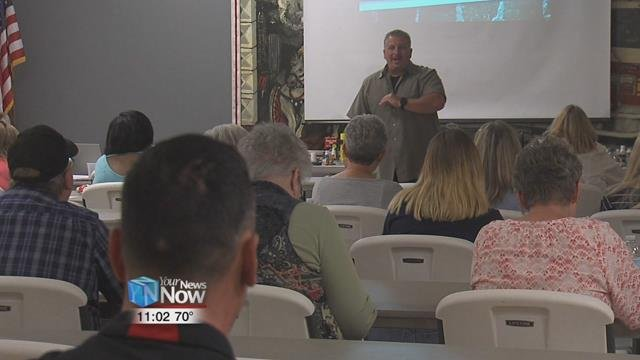 The FranklinCounty Sheriff's Office Special Investigations Unit presented their Operation Street Smart community education seminar at the Fireman's Clubhouse in Delphos.