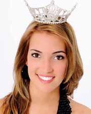 Ellen Bryan of Celina relinquished her Miss Ohio crown Saturday night.