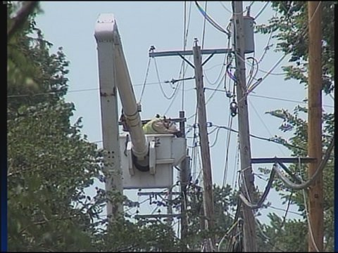 AEP officials say additional crews have been sent to Hancock and Putnam Counties now that power has been restored in other parts of the state.