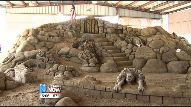 Sand Sculpture Attracts Thousands To Findlay