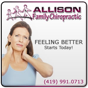 Allison Family Chiropractic - Sponsorship Header