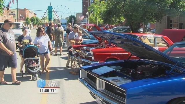 Summerfest Route Car Show HometownstationscomWLIO Lima OH - Route 66 car show