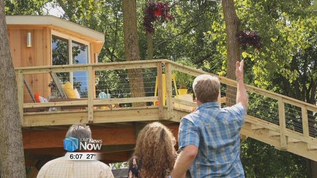 Treehouse Masters revamp a treehouse in Findlay Hometownstations