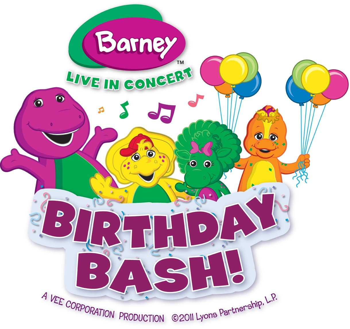 Barney Live In Concertbirthday Bash Hometownstations Wlio
